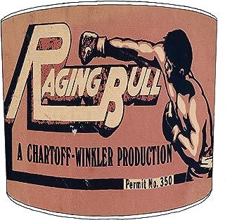 30cm raging bull boxing lampekap10 Voor een tafellamp