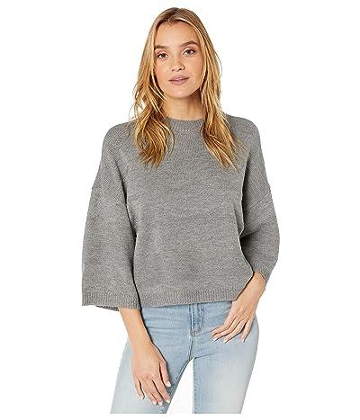 Jack by BB Dakota Tune in Drop Out Sweater (Light Heather Grey) Women