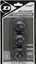 Dunlop Competition squashball (set van 3)