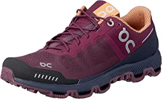 ON Women's Cloudventure Running Shoes, Mulberry/Salmon