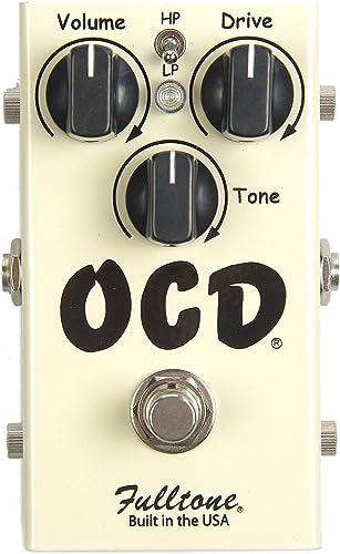 Fulltone OCD Obsessive Compulsive Drive Overdrive Guitar Effects Pedal