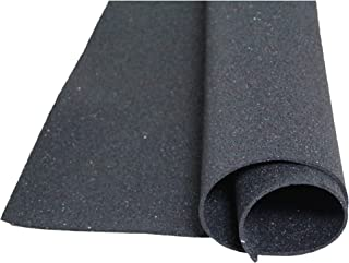 acerto 31140 Estera de protección de edificios hecha de gránulos de goma - 1.25m x 1.00m x 10mm * Para todos los pisos * C...