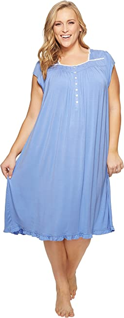 Eileen West - Plus Size Modal Waltz Nightgown