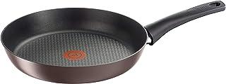 Tefal C6940602 - Cacerola (Alrededor, Sartén multiuso, Negro, Marrón, Titanium Pro, Aluminio, Thermo-Spot)
