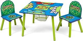 مجموعه و جدول صندلی کودکان و نوجوانان دلتا (2 صندلی شامل) ، لاک پشت های نینجا نوجوان نیکلودئون نوجوان