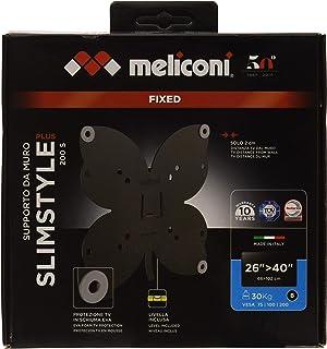 Meliconi Slimstyle Plus 200 S, ultracienki, mocowany uchwyt