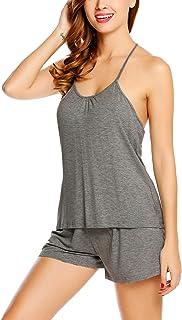 Avidlove Women's Short PJ Set Tank Bottom Pajama Sexy Nightwear Shorts S-XXL