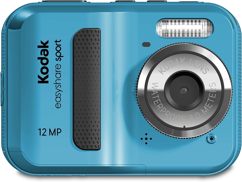 Kodak [Alternative dealer] EasyShare Sport C123 12 Digital Inventory cleanup selling sale Waterproof Camera Blue MP