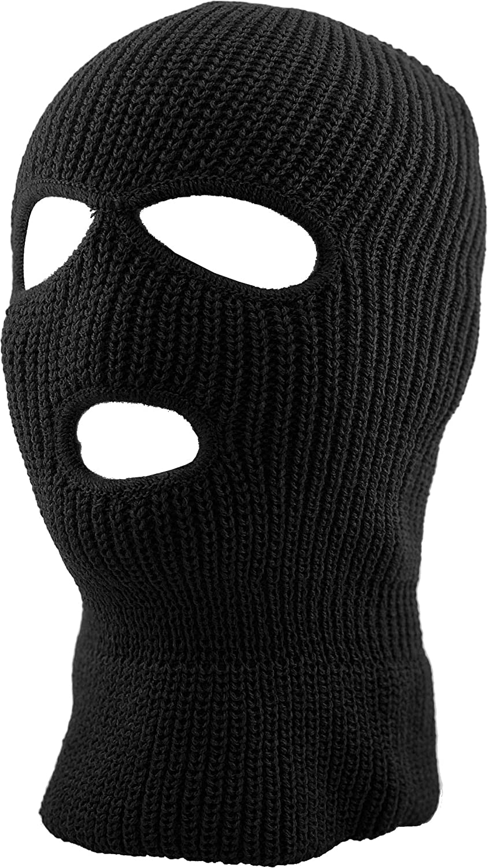 Mens Balaclava Collection Fleece Three Hole Winter Ski Mask Japan's largest assortment Knit List price
