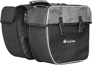 TecTake 35l Double Sacoche de vélo Porte-Bagage Cycle Pannier Sac Set