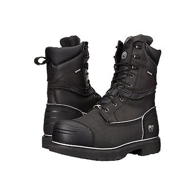 Timberland PRO Gravel Pit 10 Steel Toe (Black Full-Grain Leather) Men