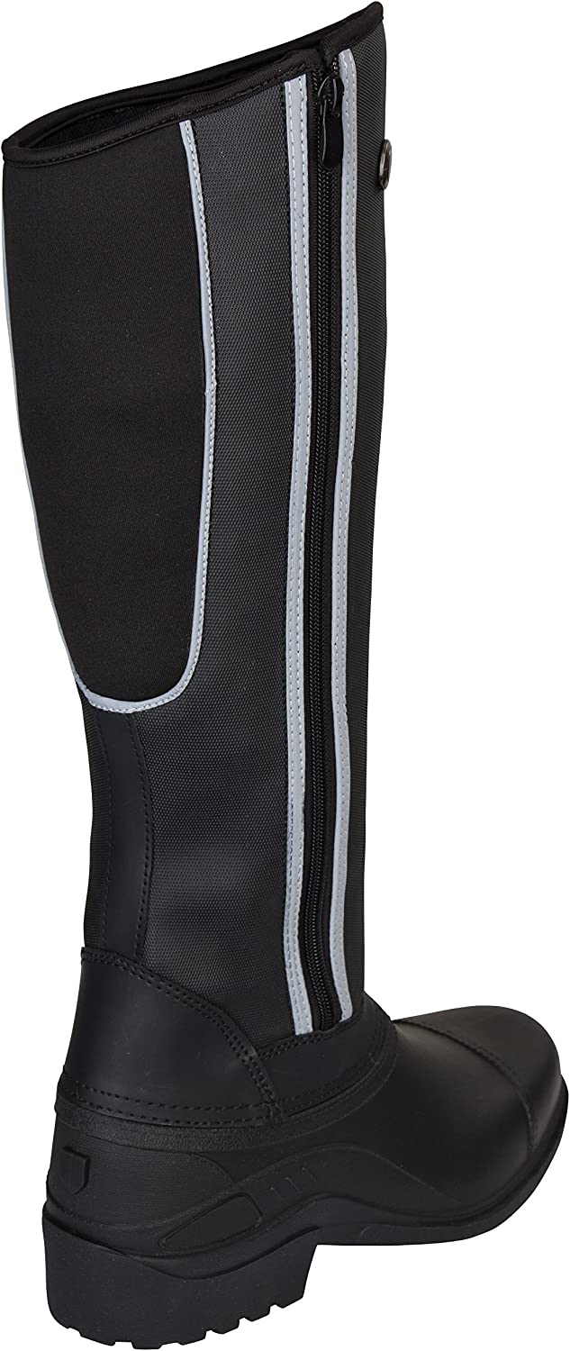 Size 32 Covalliero Kids Gronland Thermal Winter Boots-Black