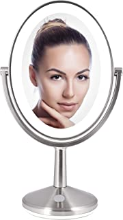 Zadro Huntington Oval Rechargeable Vanity Mirror LED Lighted Next Generation
