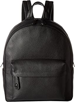 COACH - Polished Pebble Leather Campus Backpack