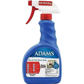 Adams Flea and Tick Home Spray, 24 Ounce