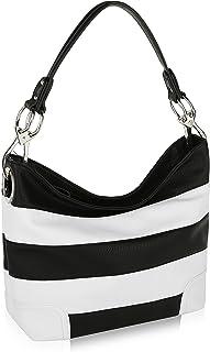 MKF Hobo Bag for Women – PU Leather Handbag – Womens Shoulder Bag Top Handle..