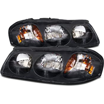 Amazon Com Chevy Impala Replacement Headlight Assembly 1 Pair Automotive