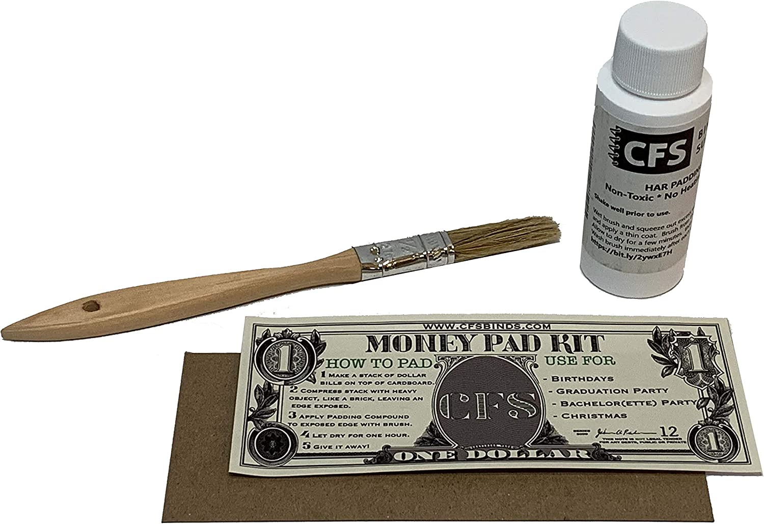 Our shop most popular Money Pad Kit Quantity limited - DIY Padding Precision Includes HAR 2oz of