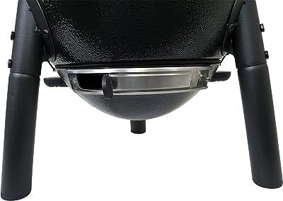 Char-Griller E6714 AKORN Jr. Portable Kamado Charcoal Grill, Black