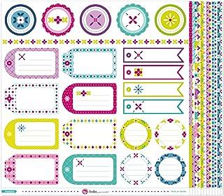 Anita y Su Mundo Collection Mosaïque Papier de scrapbooking, papier, multicolore, 30,5 x 30,5 cm