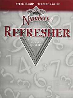 working with numbers refresher answers