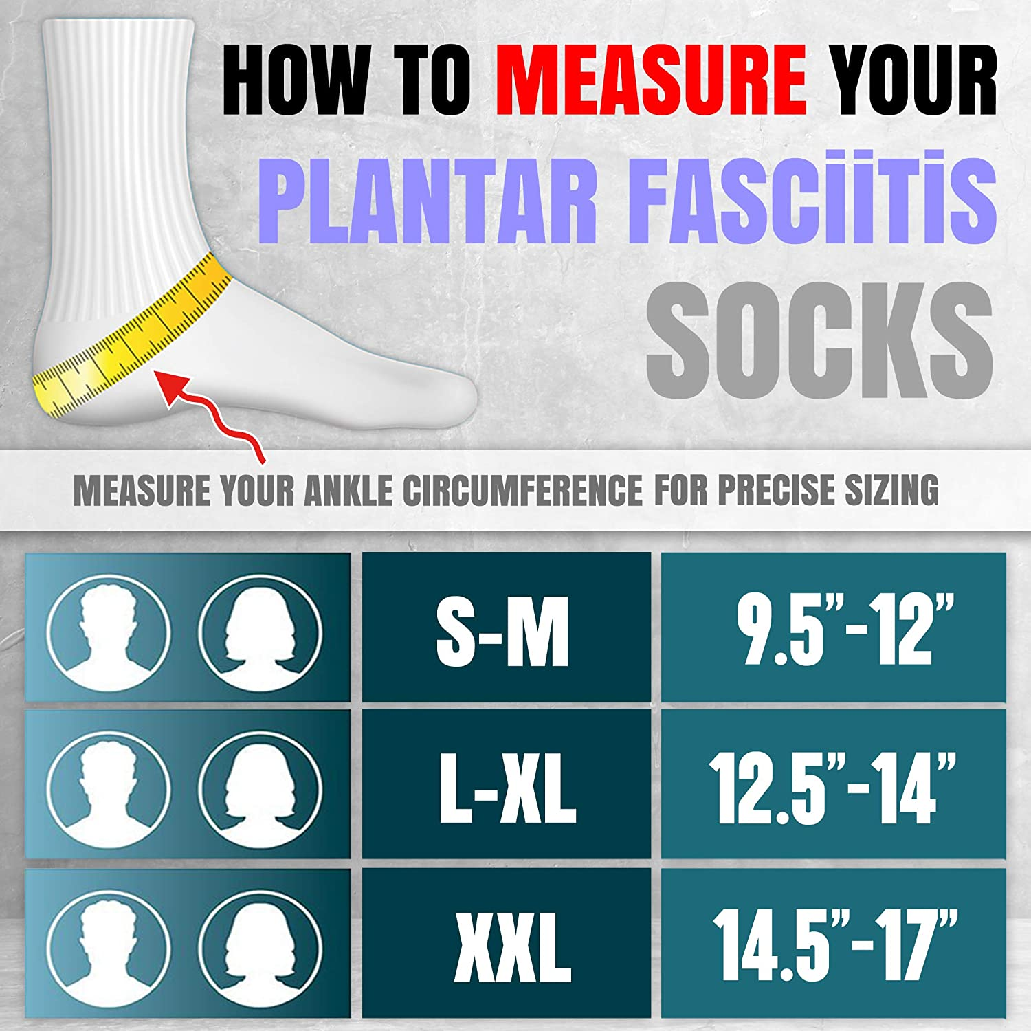 Plantar Fascitis Socks Compression Socks Toeless Ankle Swelling Relief Foot Sleeve Compression Support Ankle Splint for Plantar Compression Sleeve for Foot Nano socks for Neuropathy Relief Blue L-XL : Health & Household