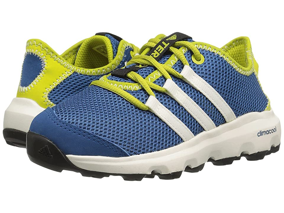 adidas Outdoor Kids Terrex Climacool Voyager (Little Kid/Big Kid) (Core Blue/Chalk White/Unity Lime) Boys Shoes