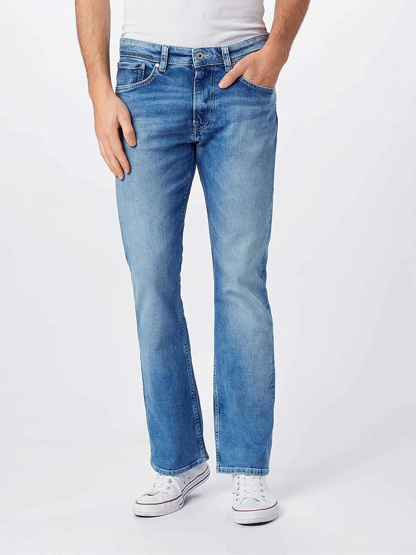 Pepe Jeans Mens Alfie Straight Jeans