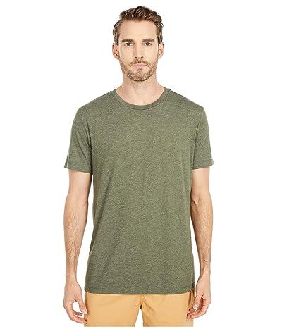 RVCA Solo Label Short Sleeve T-Shirt (Sequoia Green) Men