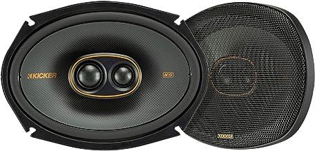 Kicker 47KSC69304 KS Series Automotive Car Audio 6x9 Inch 150 Watt and 4 Ohm 3 Way Triaxial Full Range Speaker with Thin M... photo