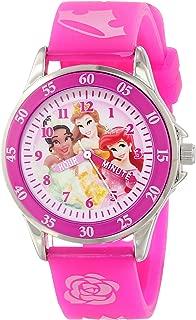 Disney Kids' PN1051 Disney Princess Watch with Pink Band