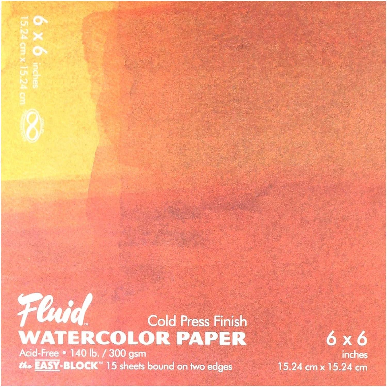 Fluid gap880066 WaterFarbe Block Block Block 6 x 6 B0046VZJZK  | Nicht so teuer  c7cdea