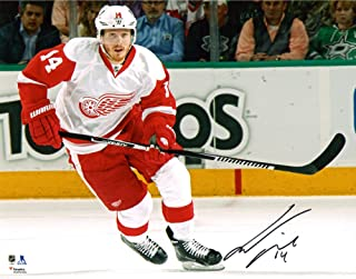 Gustav Nyquist Detroit Red Wings Autographed 8