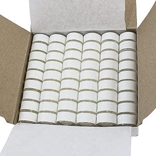 Janome 108 Pre-wound Embroidery Thread Bobbins White