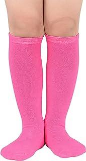 Durio Kids Soccer Socks Soft Cotton Toddler Soccer Socks...
