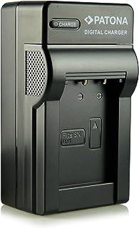 Patona NP-BX1 - Cargador 3 en 1 para baterías de cámaras de fotos compatible con Sony CyberShot DSC-HX50/HX50V/DSC-HX300/DSC-RX1 y modelos similares