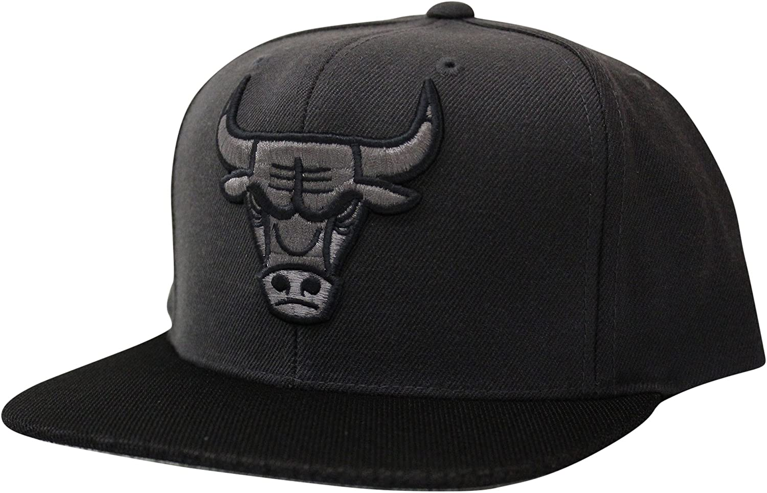 Mitchell & Ness Men's Chicago Bulls Hologram Mesh Stop On A Dime Snapback Hat Grey
