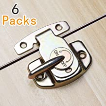 6 Sets of Align-N-Lock Table Locks, Abuff Heavy Duty Dining Training Table Buckles Connectors Great for Table Leaf, Extension Tables, Computer Workstations and Conference Tables