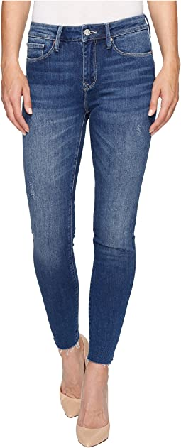 Alissa Ankle High-Rise Skinny in Mid Ripped Vintage