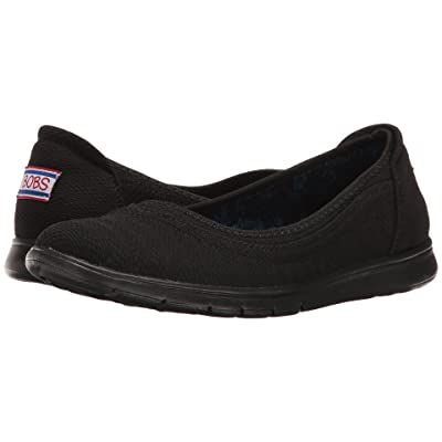 BOBS from SKECHERS Pureflex Supastar (Black/Black) Women