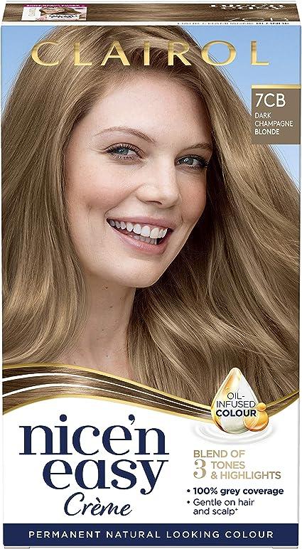 Clairol Nice n Easy Crème, tinte permanente para el cabello ...