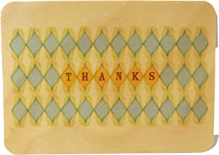 product image for Wooden Thank You Note, Matching Envelope, Single Card
