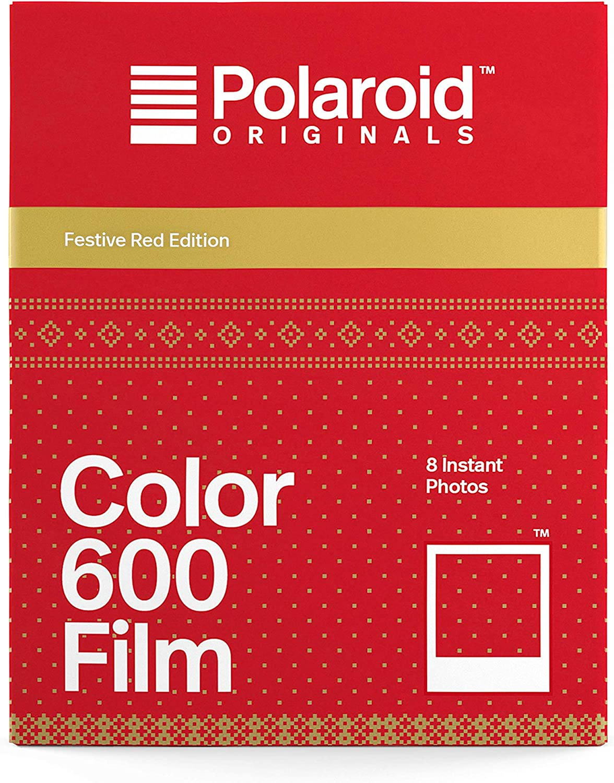 Polaroid Originals Instant Color Max 81% OFF 600 Festive - Edition Film In a popularity Red