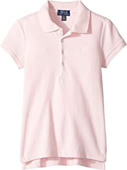 Polo Ralph Lauren Kids - Short Sleeve Mesh Polo Shirt (Little Kids/Big Kids)