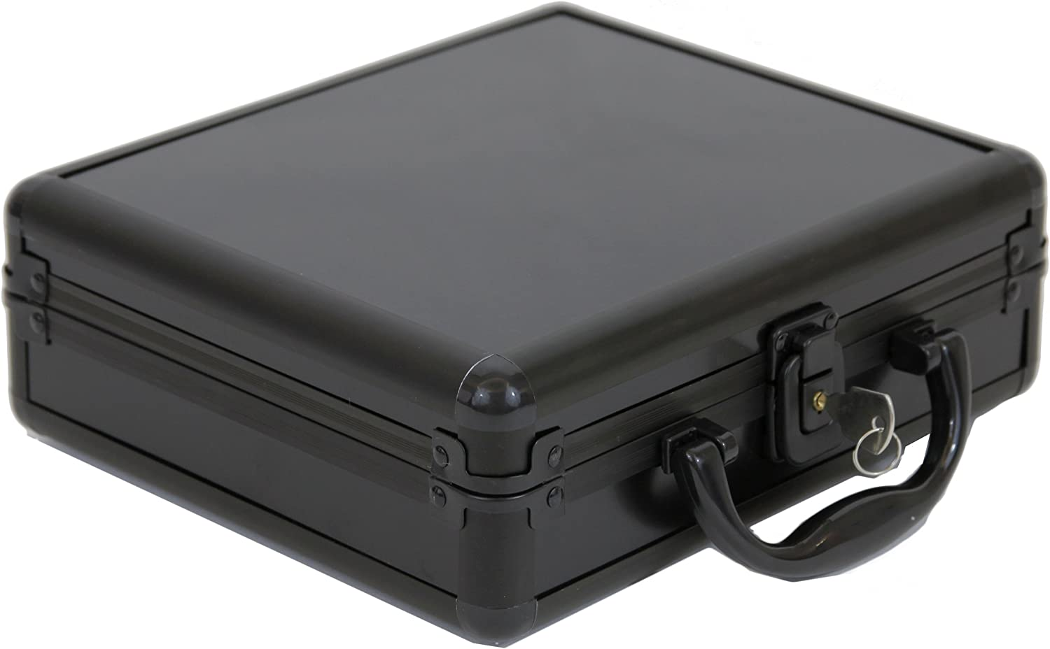 Watch Case for Collectors Briefcase Mesa Mall Store Aluminum Ha Safe Ranking TOP10 Black