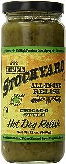 American Stockyard Chicago Style Hot Dog Relish, 12 Ounce