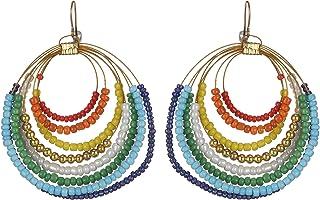 DCA Multicolor Glass Women Earrings (2073)