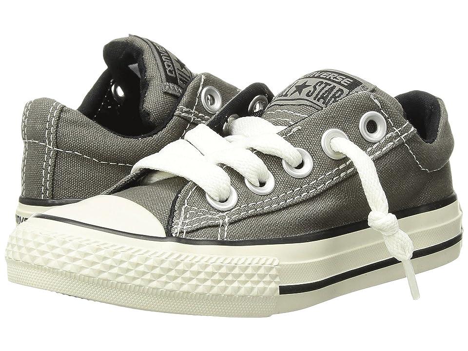 Converse Kids Chuck Taylor(r) All Star(r) Street Ox (Little Kid/Big Kid) (Charcoal) Kid