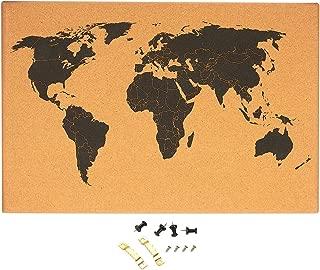 Best cork board map Reviews