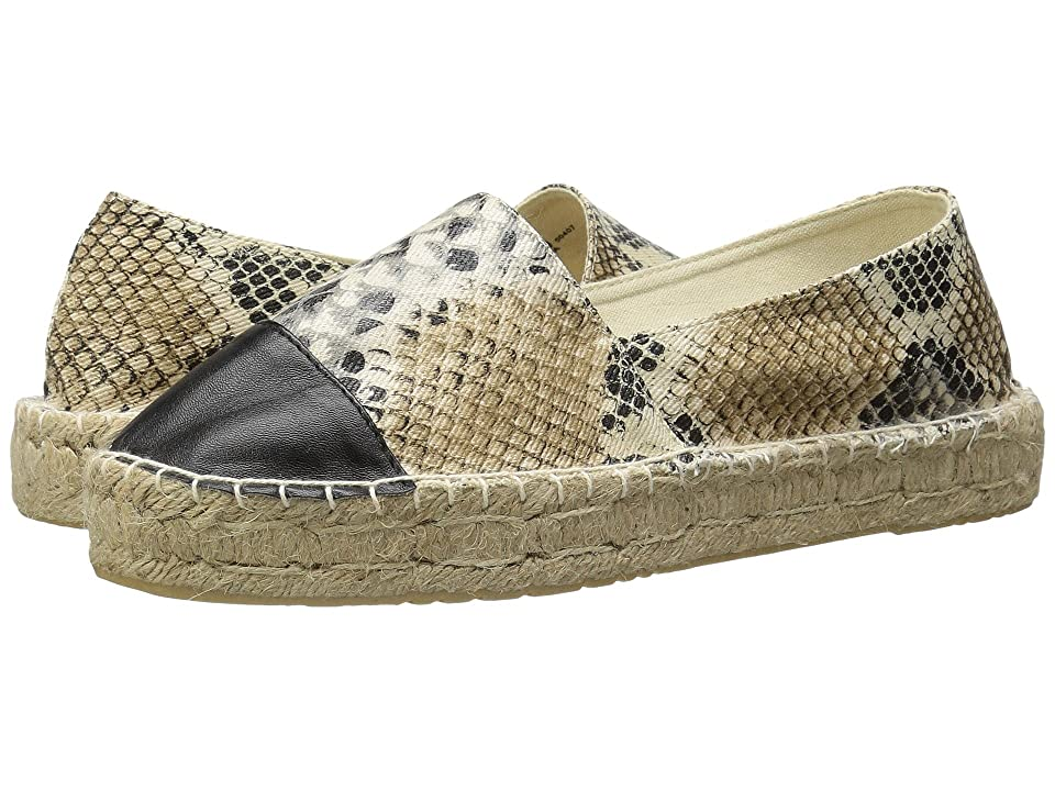 Dirty Laundry Elliot Espadrille (White Multi Snake) Women